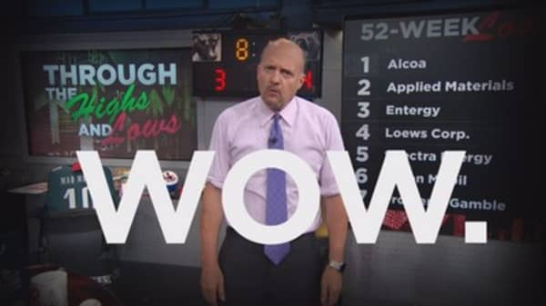 Cramer: GOOGL's rearranging the alphabet