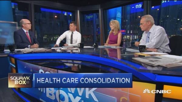 Health care merger pressures