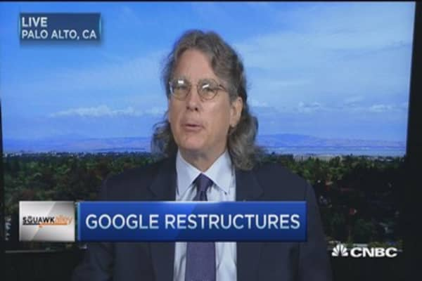 Google move may lead to separate tracking stocks: Pro