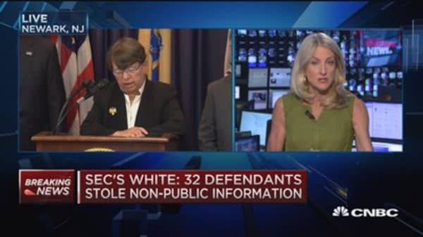 SEC's White speaks on hackers