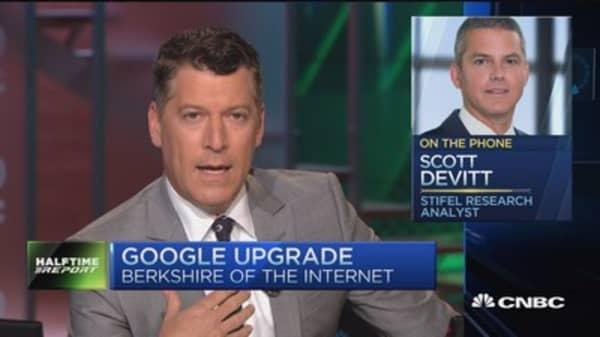 Google the Berkshire of Internet: Pro
