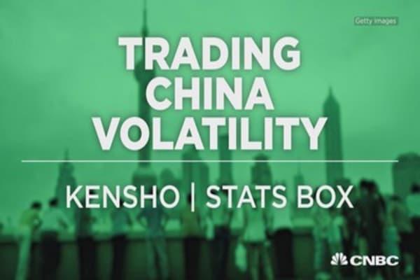 China volatility? Bet on Vegas stocks