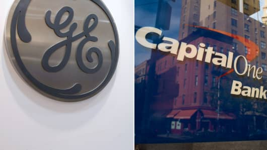GE selling health finance unit to Capital One.