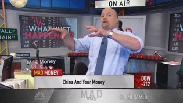 Cramer: China's trade war on the US