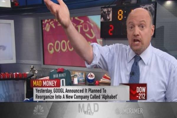 Cramer: Alphabet reminiscent of Amazon