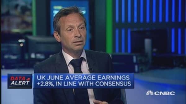 UK June unemployment: Reaction