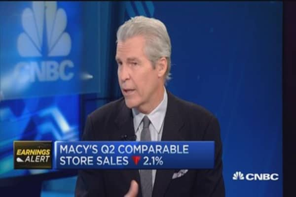 Macy's earnings disappoint