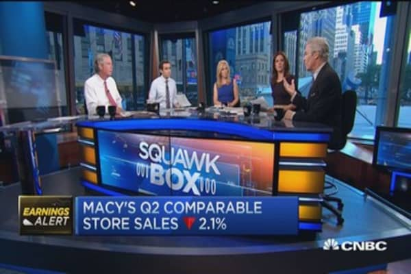 Macy's: I'm a retailer, experts guiding us on real estate