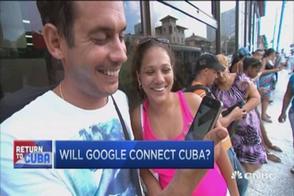 Will Google connect Cuba?