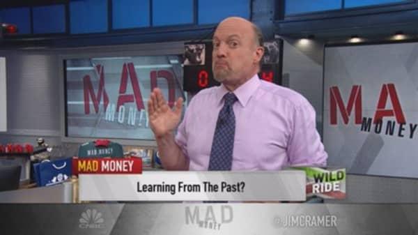 Cramer: Rally could last! Shut up China