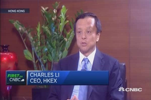 HKEx CEO: Yuan devaluation is part of SDR push