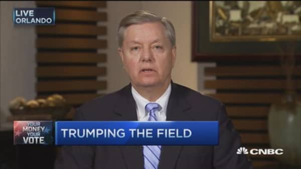 Sen. Graham: Trump's policy solutions 'just gibberish'