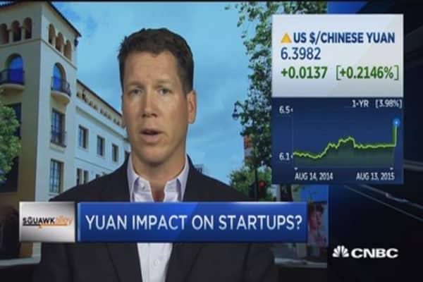 Yuan stalling VC spending?