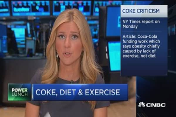 Coke, diet & exercise