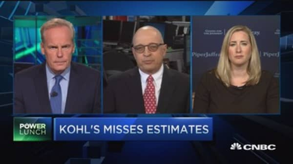 Kohl's misses estimates: What's the play