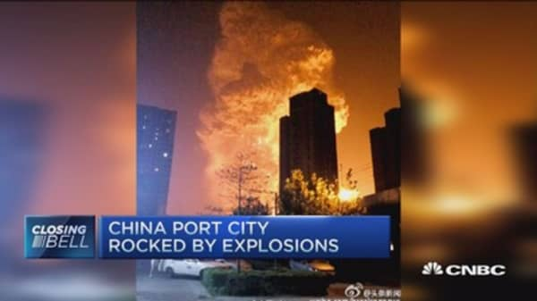 Explosive China catastrophe