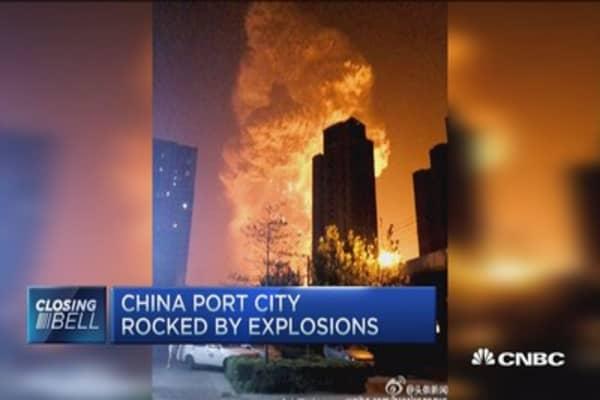 Explosive China catastrophe