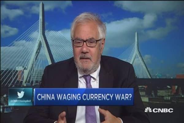 No need to panic over China: Frank