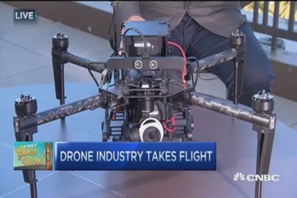 Drones for commercial applications