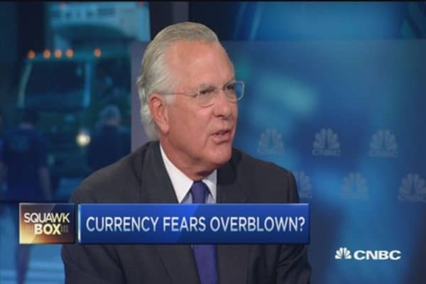 Richard Fisher on rate hike: Much ado about nothing