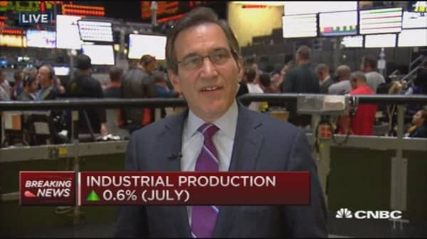 Industrial production better than expected