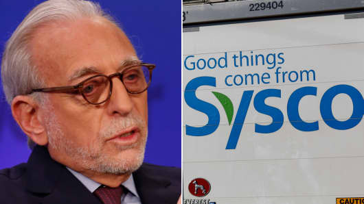 Nelson Peltz takes stake in Sysco.