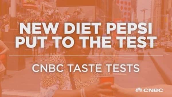 New Diet Pepsi put to the taste test