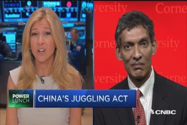 China's juggling act