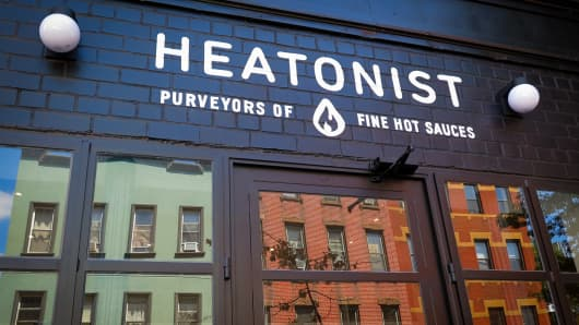 Heatonist Purveyors of Hot Sauces in Brooklyn, New York.