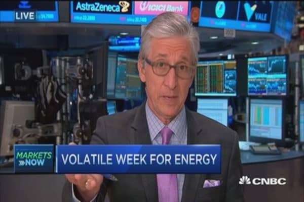 Pisani: Oil stocks' very good week