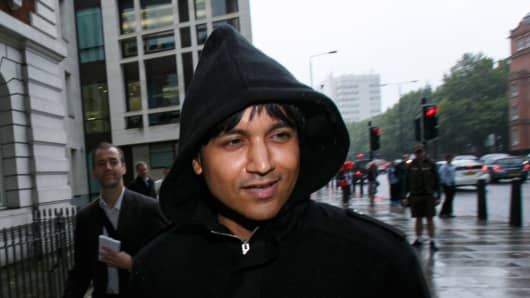 Navinder Singh Sarao leaves Westminster Magistrates Court on August 14, 2015 in London, England. Navinder Singh Sarao, a British financial trader accused of helping trigger a multibillion-dollar US stock market crash, has been granted bail while he fights extradition to America.