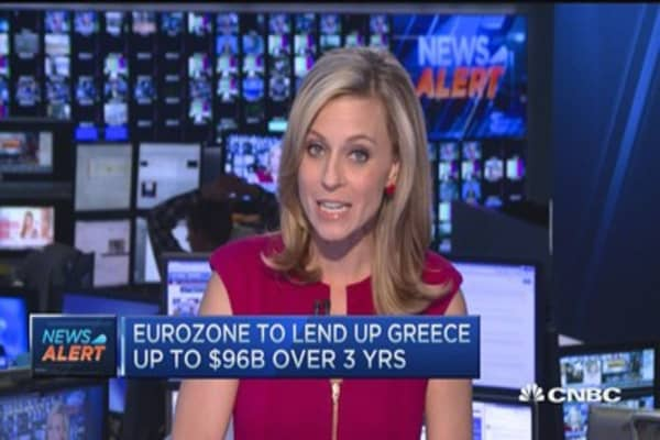 New Greek bailout approved