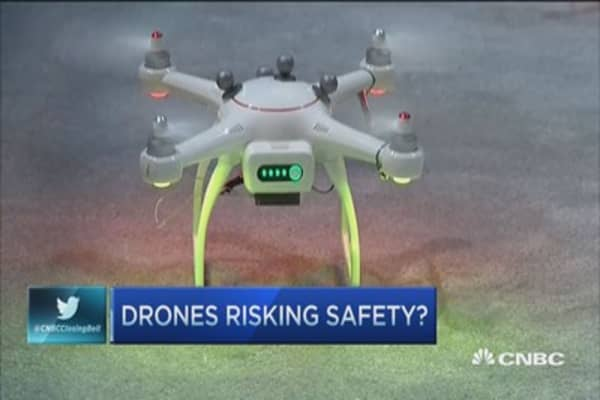 Drones interfere with firefighters: Legislator