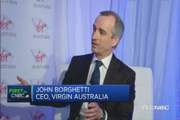 Virgin Australia unveils new business class suites