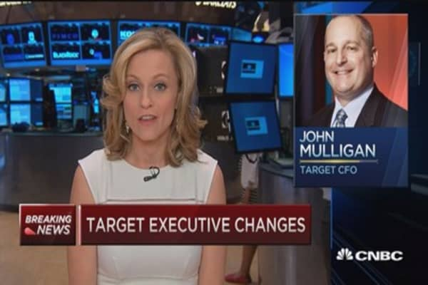 Executive changes at the top at Target