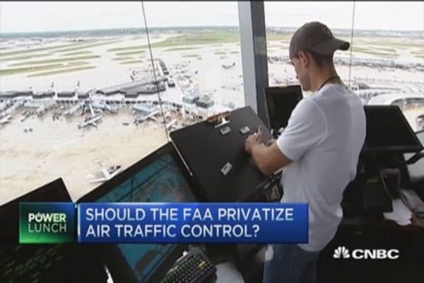 Aging air traffic control