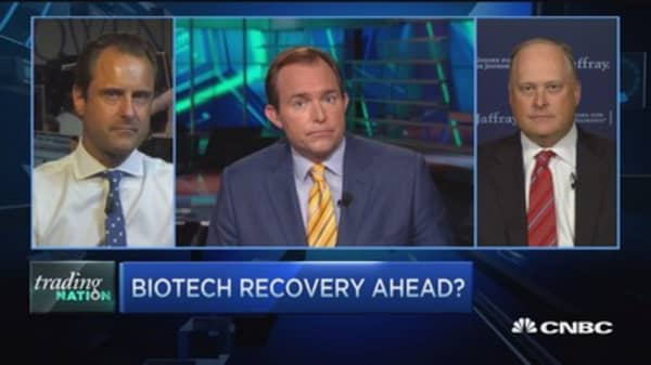 Time for biotech to bounce back?