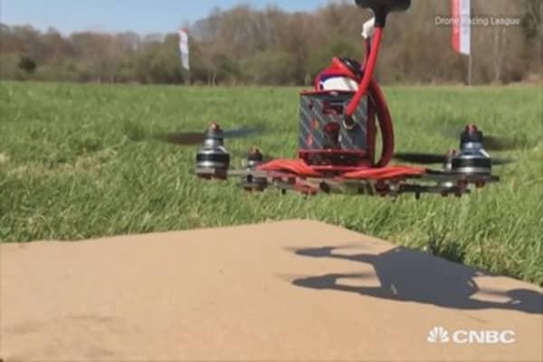 Drone Racing League gets $1 million