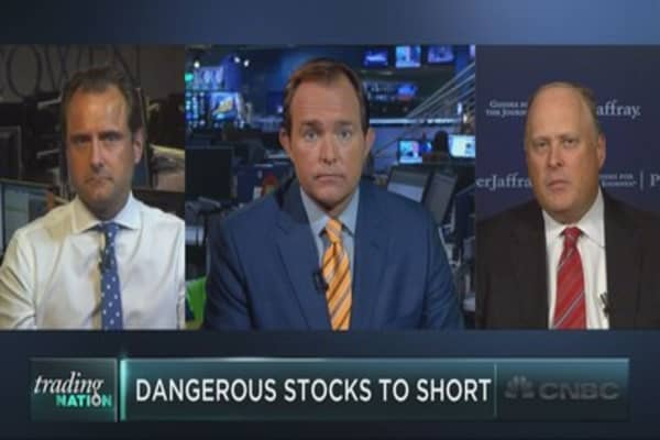 Shorting these stocks could be dangerous