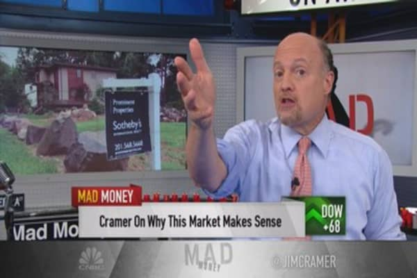 Cramer: Make your play on housing, NOW!