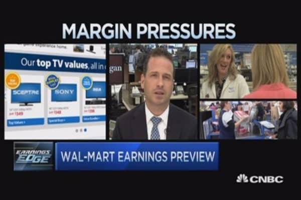 Wal-mart earnings edge: 3 key things to watch