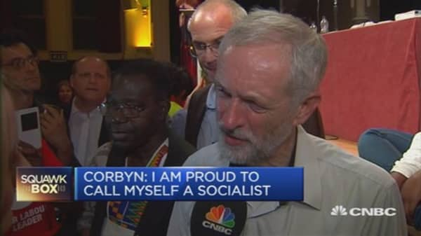 Proud to call myself a socialist: Corbyn