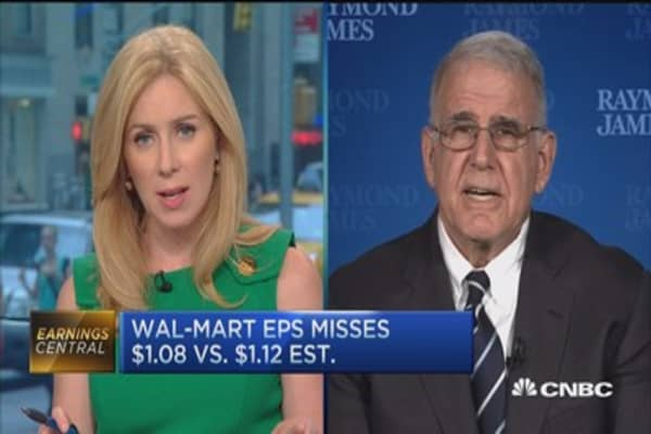 Wal-Mart earnings pressured by expenses: Pro