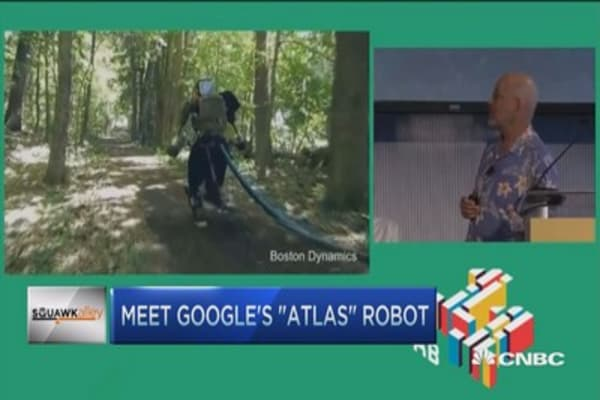 Meet Google's 'Atlas' robot