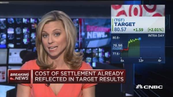 Target settles with Visa