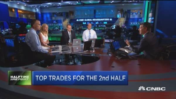 Top trades for the 2nd half: Shopping & the Fed