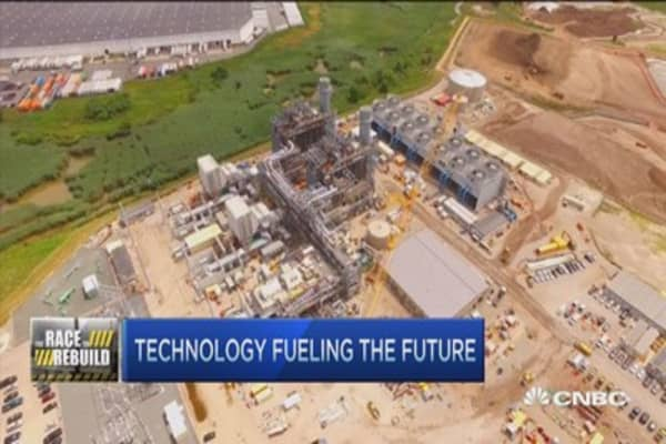 Nat gas technology fuels the future