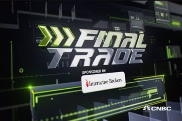 Fast Money Final Trade: Oil, S&P, banks & healthcare