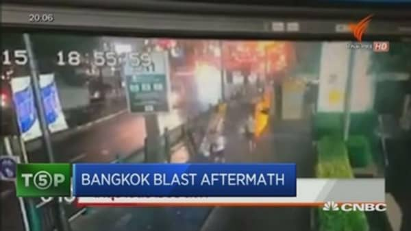Tracking the aftermath of Bangkok bombing