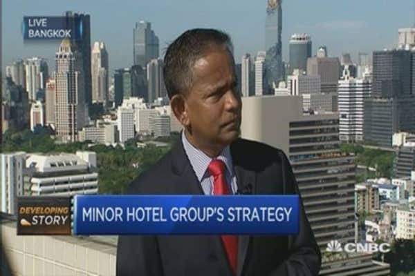 Minor Hotel: Seeing cancellations after Bangkok blast